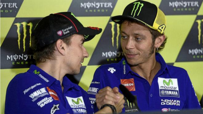 Lorenzo y Rossi, en Yamaha.