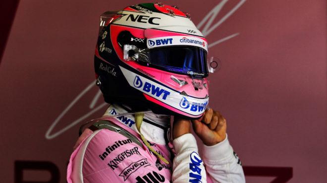 El piloto mexicano Sergio 'Checo' Pérez