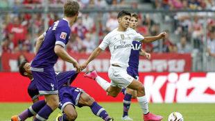 Marco Asensio tuvo su bautismo de fuego con el Real Madrid ante el...
