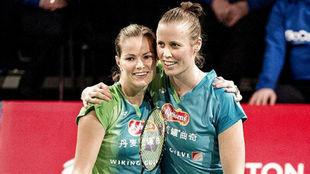 Kamilla Rytter-Juhl y Christinna Pedersen, subcampeonas olímpicas en...