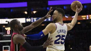 Los 76ers avanzan a la siguiente ronda de los playoffs.
