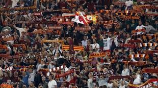 Aficionados de la Roma
