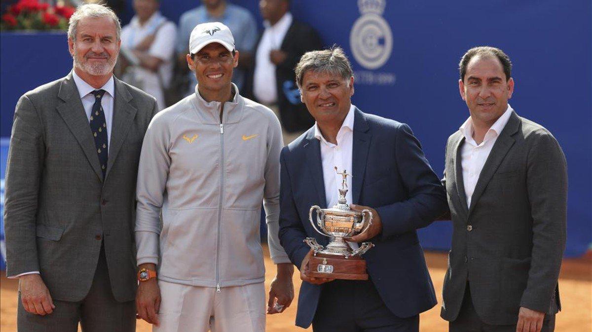 Rafael Nadal ganó por undécima vez el Conde de Godó