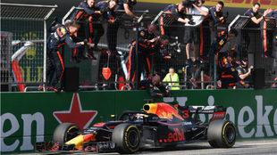 Ricciardo, tras ganar el GP de China.