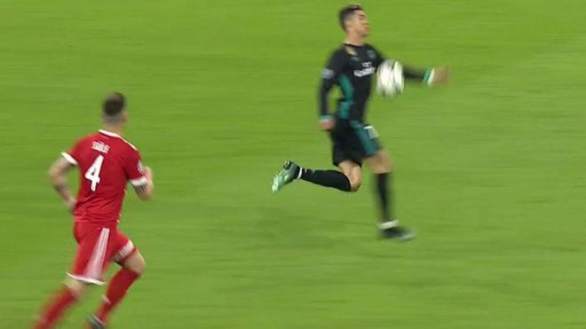 VIDEO: Trọng tài sai vì không công nhận bàn thắng của Ronaldo?
