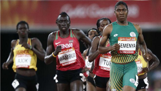 Caster Semenya, en competición durante los pasados Juegos de la...