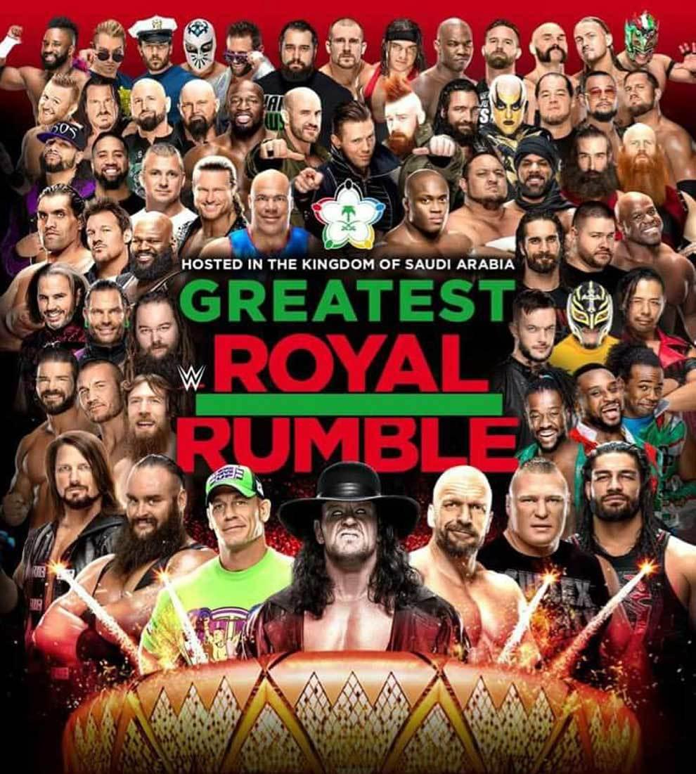 The Greatest Royal Rumble de Arabia Saudí