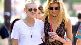 Kristen Stewart (28) and Stella Maxwell (27)