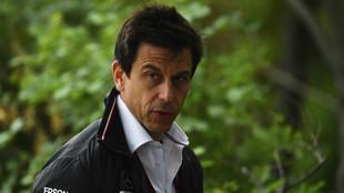 Toto Wolff, director deportivo de Mercedes