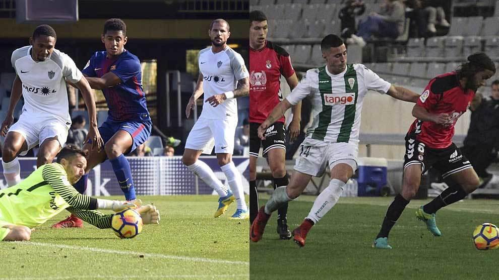 En el Mini, Almería y Barça B empataron a uno y en el Arcángel,...