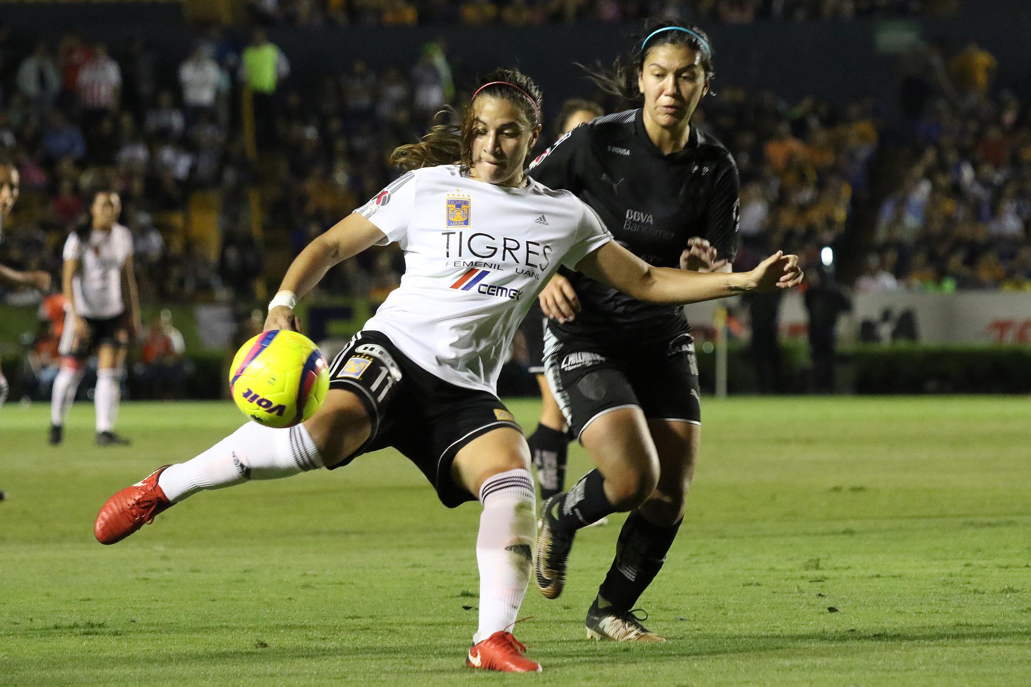 Fútbol Femenil: Tigres vs Monterrey: goles y resultado | MARCA Claro ...