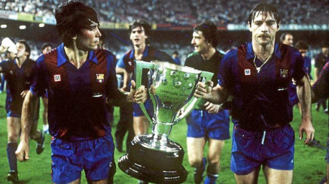 Carrasco & Migueli in 1985.