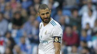Karim Benzema, ante el Leganés