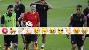 Messi, Valverde y Neymar, en la gira por Estados Unidos
