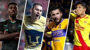 Ningún mexicano figuró en el top ten del Clausura 2018.