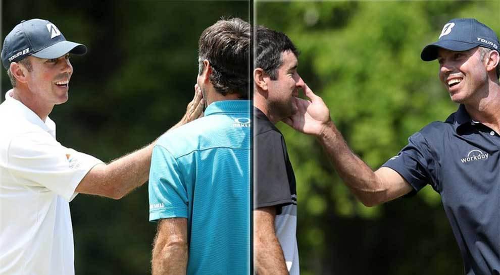 Los golfistas Bubba Watson y Matt Kuchar tuvieron una curiosa manera...