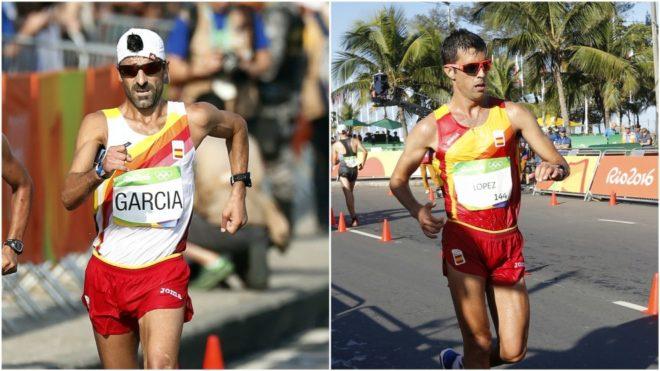 Jesús Ángel García Bragado y Miguel Ángel López.