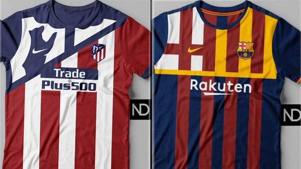c15fd1ca993c1 Así serían las camisetas de los equipos de fútbol según sus escudos ...
