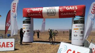 Guillem Muñoz se impone en la segunda etapa de la Titam Desert