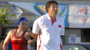 Joan Jané, en su etapa como seleccionador de China