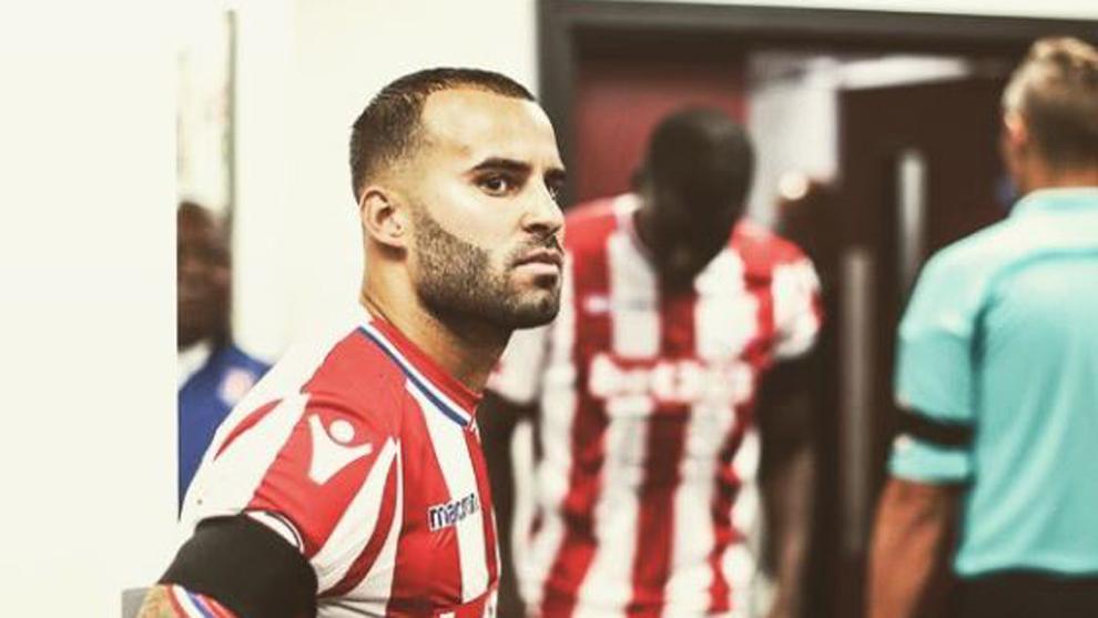 Jesé Rodríguez, en un partido del Stoke