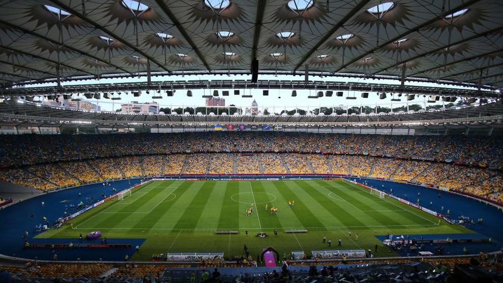 Panorámica del Olímpico de Kiev