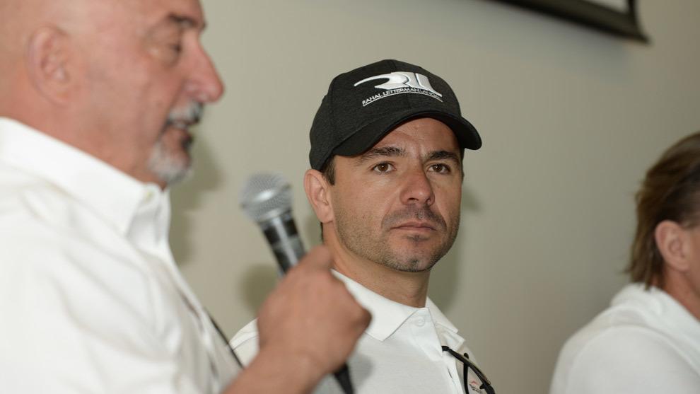 Oriol Serviá, junto a Bobby Rahal