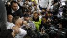 Sergio Ramos, mezclado entre el público del Bernabéu