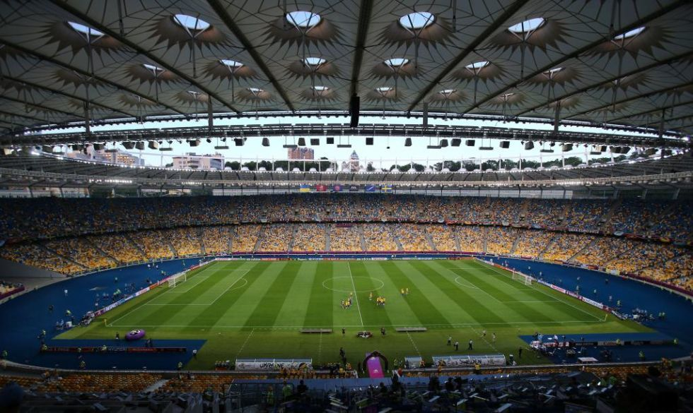 Estadio Olímpico de Kiev sede la final de Champions League 2018