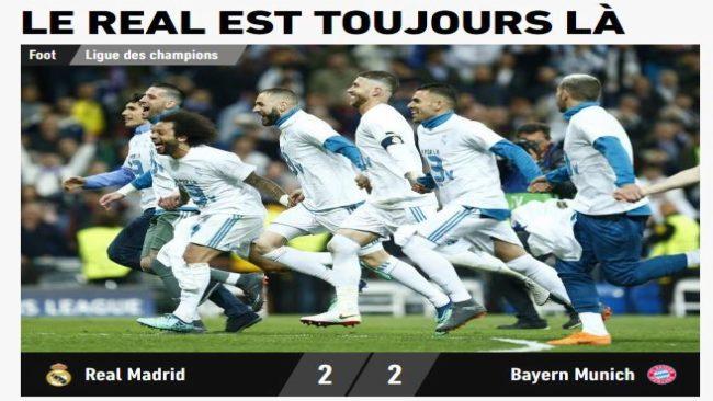 """L'Equipe: """"Siempre es el Real"""""""