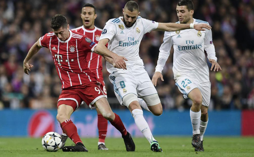 Real Madrid: Benzema gets one over Lewandowski | MARCA in English