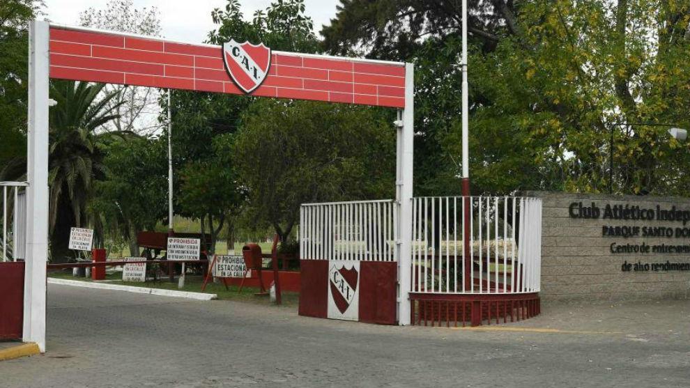 Instalaciones de Independiente.