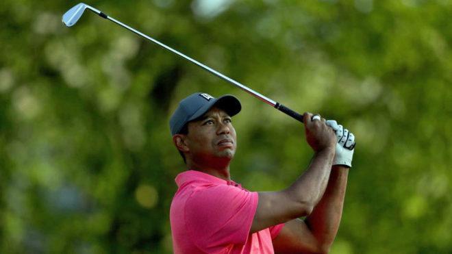 Tiger Woods, durante el Pro-Am previo al torneo.
