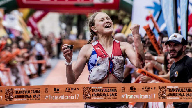 Ida Nilsson, doble ganadora de Transvulcania.