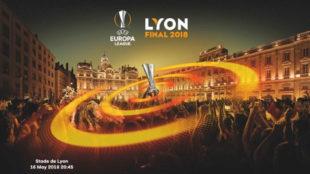 Imagen de la Final de la Europa League.