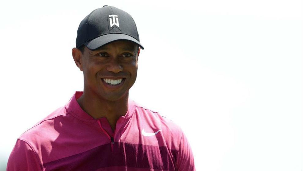 Tiger Woods, durante la primera jornada del Wells Fargo Championship.