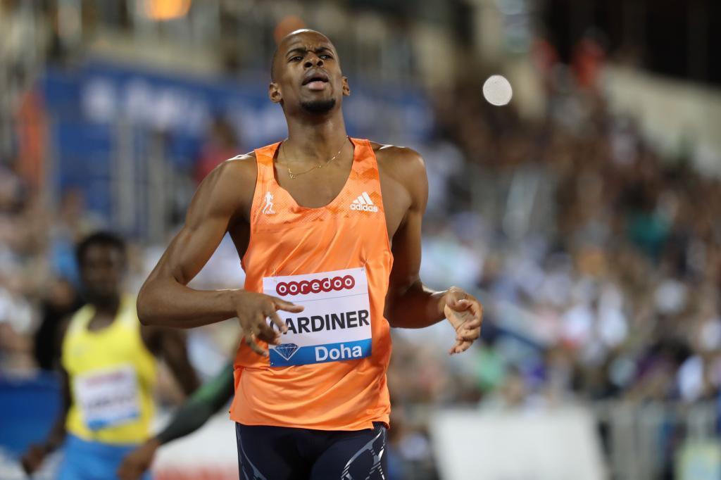 Gardiner, en primera posición en los 400 metros
