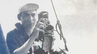 Alfredo Benito, en los inicios de su carrera profesional