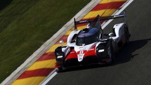 El Toyota de Alonso saldrá en la pole