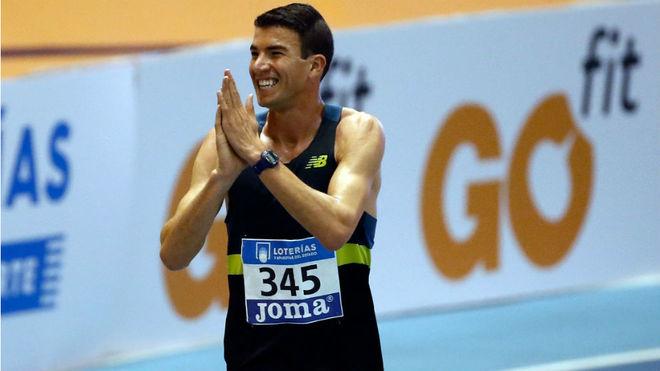 Adel Mechaal, tras una competición