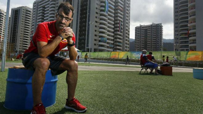 Gacía Bragado, en los Juegos Olímpicos de Río