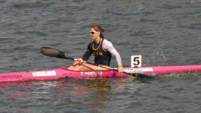 Teresa Portela tras ganar la competición.