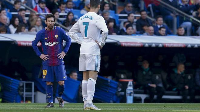 Sau vòng 36 Liga: Cris Ronaldo thua Messi