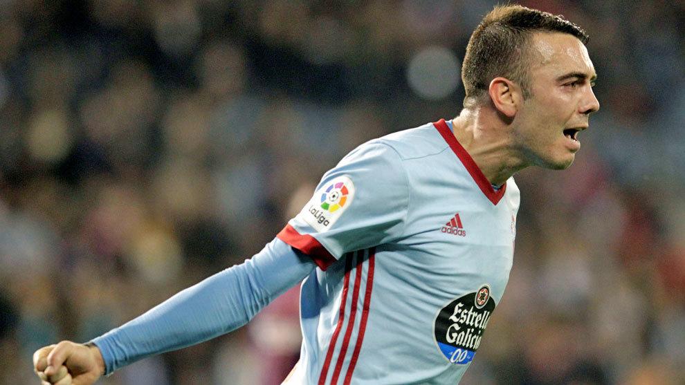 Aspas confía reaparecer en el Bernabéu