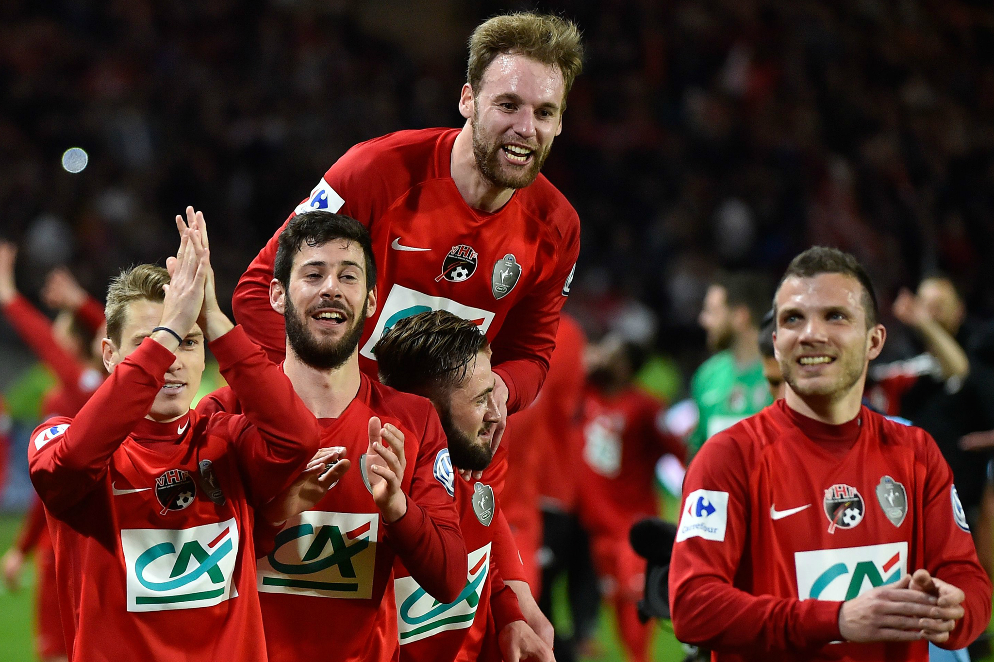 Les Herbiers, tras clasificarse para la final de la Copa francesa