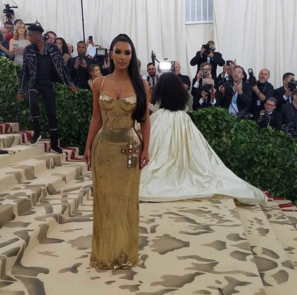 4a338e3f9 MET Gala 2018  Kim kardashian en la gala del met en nueva york ...