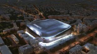 Proyecto del Nuevo Bernabéu cubierto