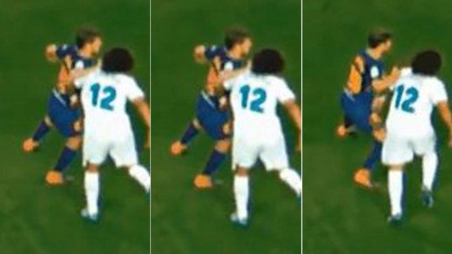 Cuatro partidos de sanción para Sergi Roberto por su 'agresión' a Marcelo