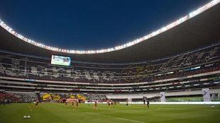 El Azteca recibirá juegos cada ocho días.