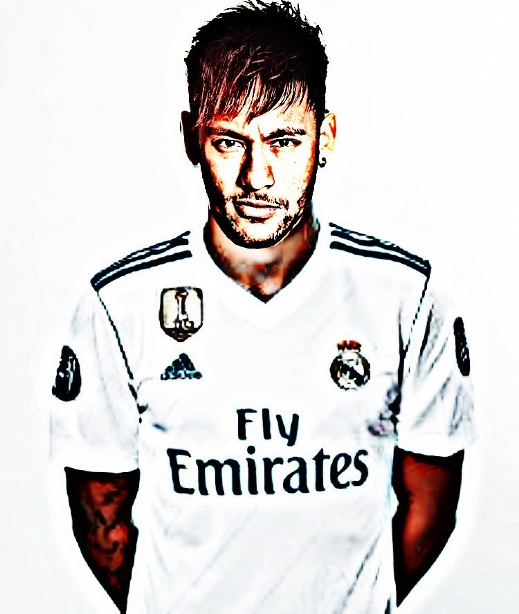 buy popular 94560 5d9fe Neymar to Madrid? This is how he would look in the shirt of ...
